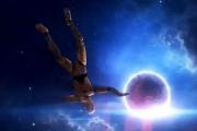 Если бы человек упал на нейтронную звезду: видео