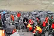 В Китае 141 человек пропал без вести под завалами оползня