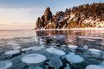Лед Байкала удивляет и завораживает красотой и разнообразием: фотообзор